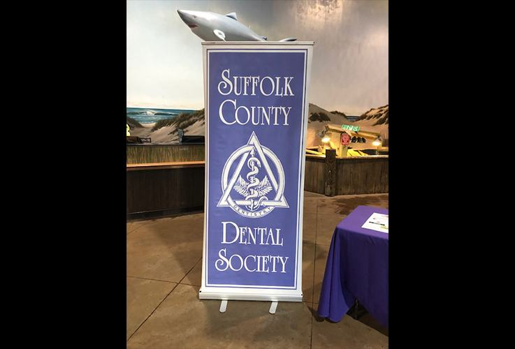 Suffolk County Dental Society sign